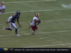 Kirk Cousins hits Pierre Garcon for 25 yards