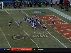 Jeremy Langford punches it in for a 1-yard TD
