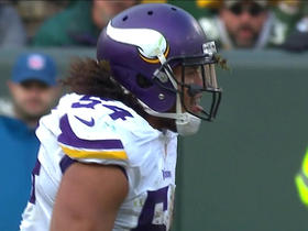 Eric Kendricks makes shoestring sack on Aaron Rodgers
