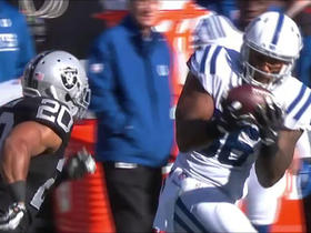 Andrew Luck hits Erik Swoope for 45 yards
