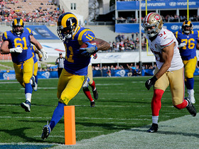 Watch: Tavon Austin takes off for 30-yard TD