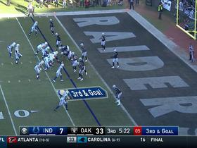 Andrew Luck finds Robert Turbin for the 3-yard TD