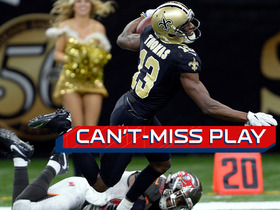 Can't-Miss Play: Michael Thomas pulls in reception, gains 51 yards