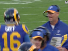 Watch: Jared Goff slings pass to Tyler Higbeee for 2-yard TD