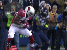 David Johnson wins jump ball over Kam Chancellor for 29 yards