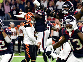 Texans win AFC South as Bengals miss game-ending FG