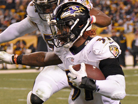 Watch: C.J. Mosley gets huge interception off Ben Roethlisberger
