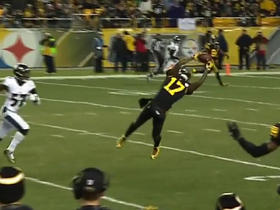 Eli Rogers lays out for incredible 20-yard grab from Ben Roethlisberger