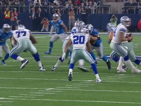Darren McFadden bounces outside for 18 yards