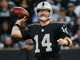 How much would first-round bye mean for McGloin, Raiders