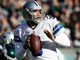 Romo goes deep on first pass of the season