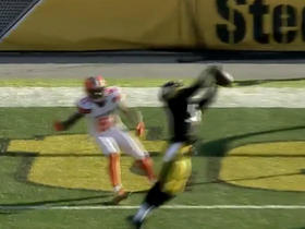 Ryan Shazier makes beautiful red zone interception off Robert Griffin III