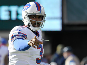 EJ Manuel misses wide open TD pass to Charles Clay