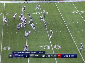 Watch: EJ Manuel strip sacked, Jets recover