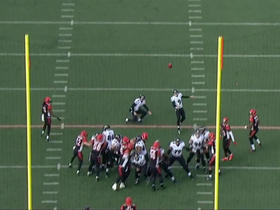 Justin Tucker connects on 30-yard field goal