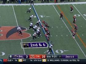 Watch: Joe Flacco hits Breshad Perriman for 40-yard gain
