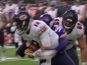 Watch: Matt Barkley sacked and fumbles, Everson Griffen recovers and returns for a 20-yard TD
