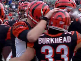 Watch: Rex Burkhead rushes up the middle for 5-yard touchdown
