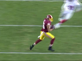 Kirk Cousins fires to Jordan Reed for 21 yards