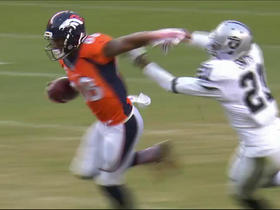Demaryius Thomas turns up for a big 26-yard pickup
