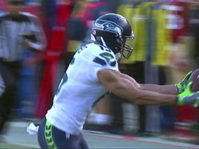 Russell Wilson connects with Jermaine Kearse for 36 yards