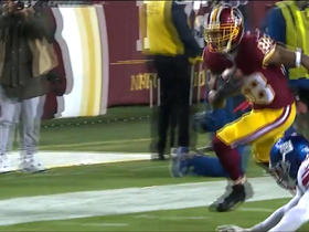 Kirk Cousins finds Pierre Garcon for a first down