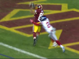 Watch: Kirk Cousins finds Jordan Reed in the end zone for a 1-yard TD