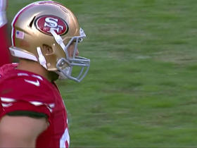 Watch: Colin Kaepernick connects with Garrett Celek for 9-yard TD