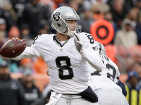 Connor Cook completely overthrows receiver on interception