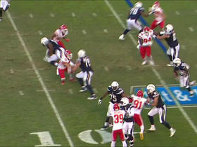 Ronnie Hillman picks up 17 yards with huge running lanes