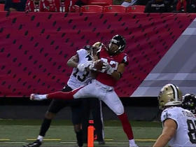 Jalen Collins intercepts Drew Brees