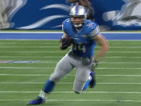 Zach Zenner uses the screen to pick up 14 yards