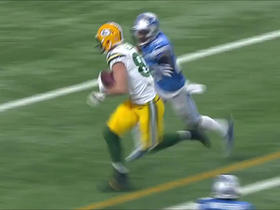 Jordy Nelson almost scores on slant, gains 16 yards