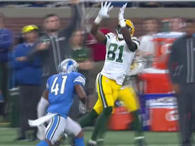Aaron Rodgers goes deep to Geronimo Allison for 31 yards