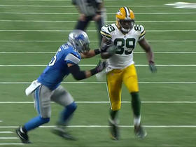 Aaron Rodgers finds Jared Cook for 15 yards