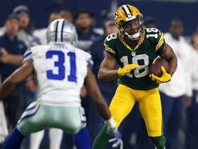 Watch: Aaron Rodgers finds Randall Cobb for 16-yard gain