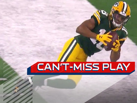 Watch: Can't-Miss Play: Rodgers' ridiculous sideline heave to Cobb