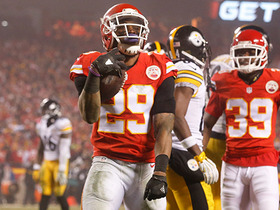 Watch: Eric Berry picks off Ben Roethlisberger in end zone
