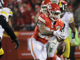 Watch: Charcandrick West fumbles football, Artie Burns recovers
