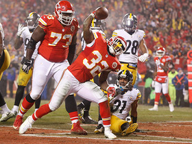 Watch: Spencer Ware goes up the middle for a 1-yard TD
