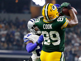 Watch: Brandt on Rodgers to Cook: That play was 'Montana to Clark'