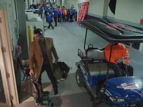 Watch: Behind the Scenes: Patriots Arrive