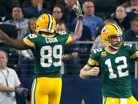 Step-by-step: Explaining Rodgers' progression on pass to Cook