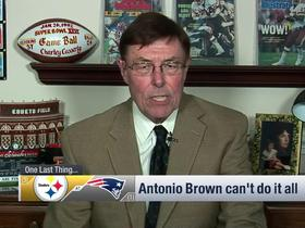 Watch: Casserly: Antonio Brown can't do it all
