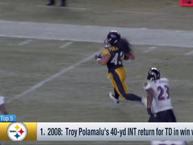 Watch: Remaining teams: Top 5 Plays in Divisional Playoff History