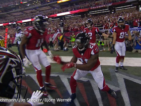 Watch: German announcers call Matt Ryan's 14 yard touchdown pass to Tevin Coleman