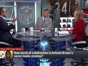 Watch: How much of a distraction is Brown's social media misstep?