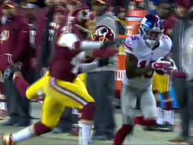 Watch: Eli Manning hits Tavarres King for a 44-yard gain
