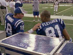 Watch: Manning on Fletcher: 'He thinks he should be the offensive coordinator also'
