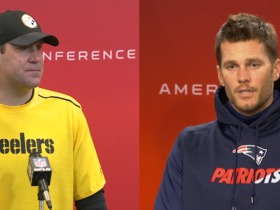 Watch: AFC compliment-fest: Big Ben and Tom Brady praise each other